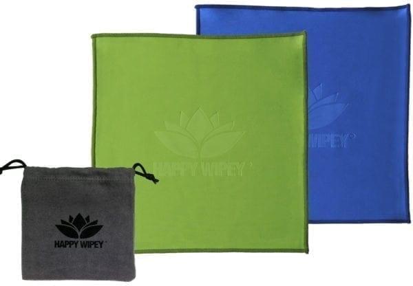 HAPPY WIPEY - Premium Qualitäts Microfaser-Reinigungstücher 9 HAPPY WIPEY
