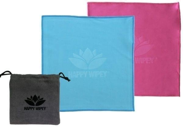 HAPPY WIPEY - Premium Quality Microfiber-Cleaningcloths 3 HAPPY WIPEY