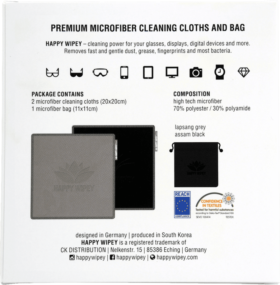 PLAIN EDITION lapsam grey & assam black 5 HAPPY WIPEY