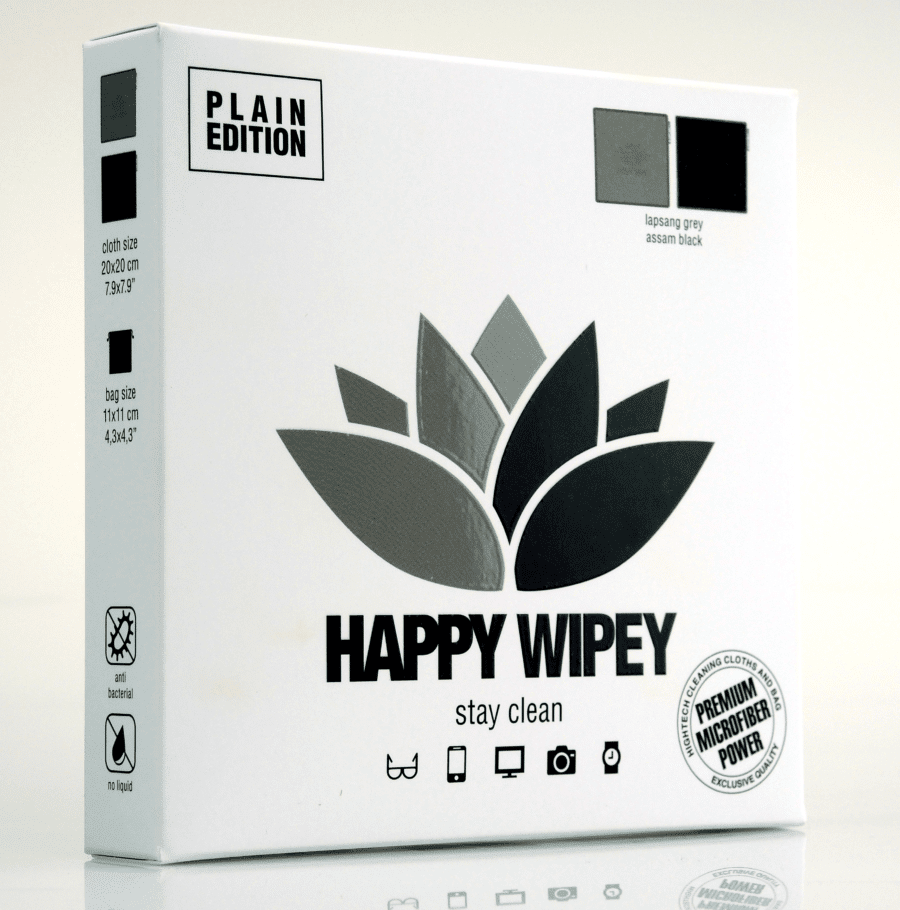 PLAIN EDITION lapsam grey & assam black 4 HAPPY WIPEY