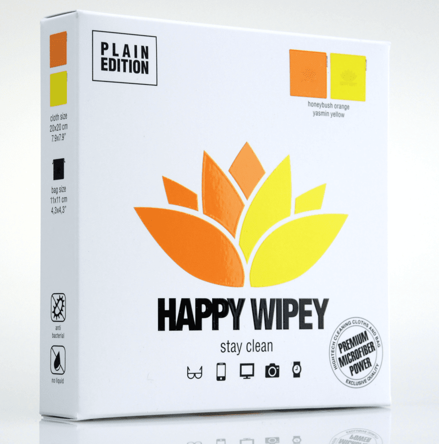 PLAIN EDITION honeybush orange & yasmin yellow 4 HAPPY WIPEY