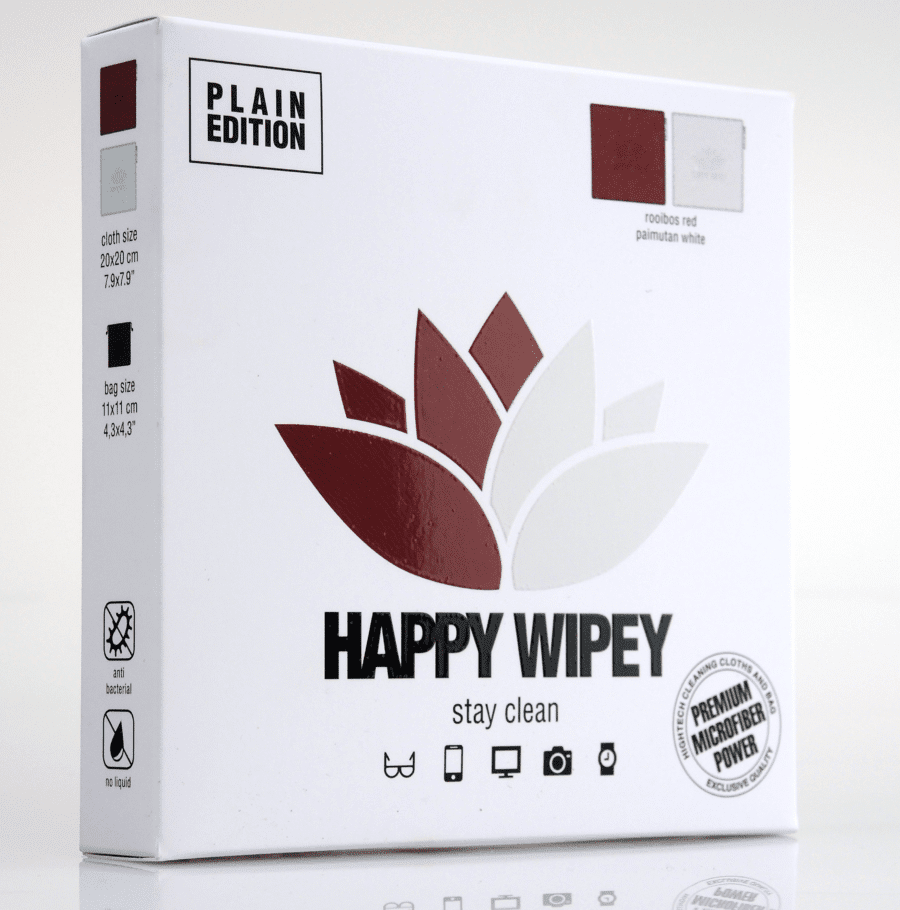 PLAIN EDITION rooibos red & paimutan white 4 HAPPY WIPEY